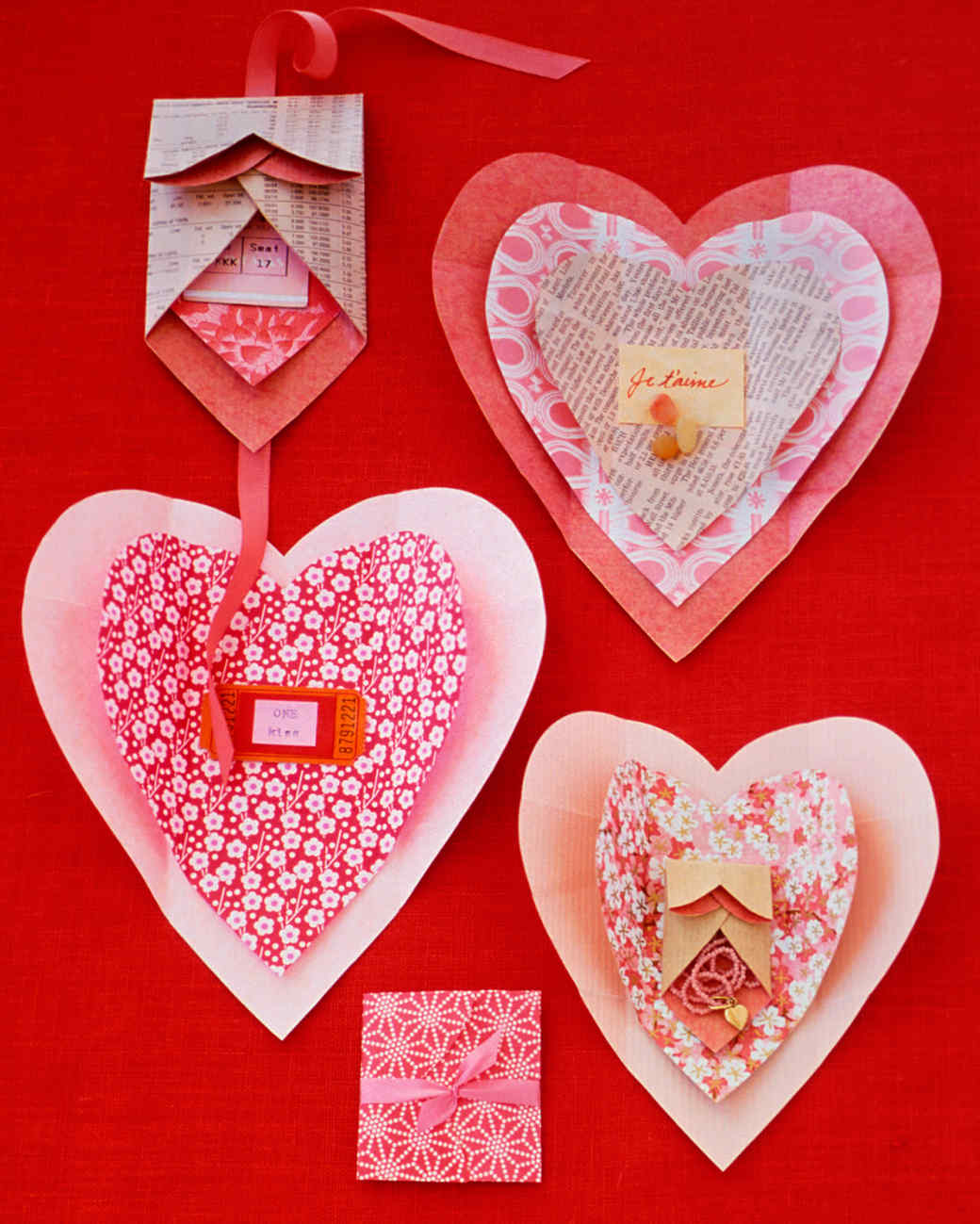 37 Valentines Day Crafts to Make From the Heart – Martha Stewart Valentines Day Cards