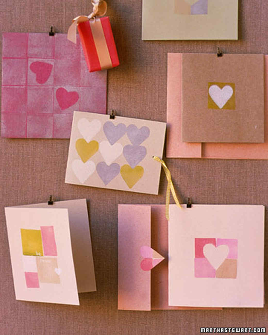 Hearts and blocks valentines martha stewart - Martha stewart manualidades ...