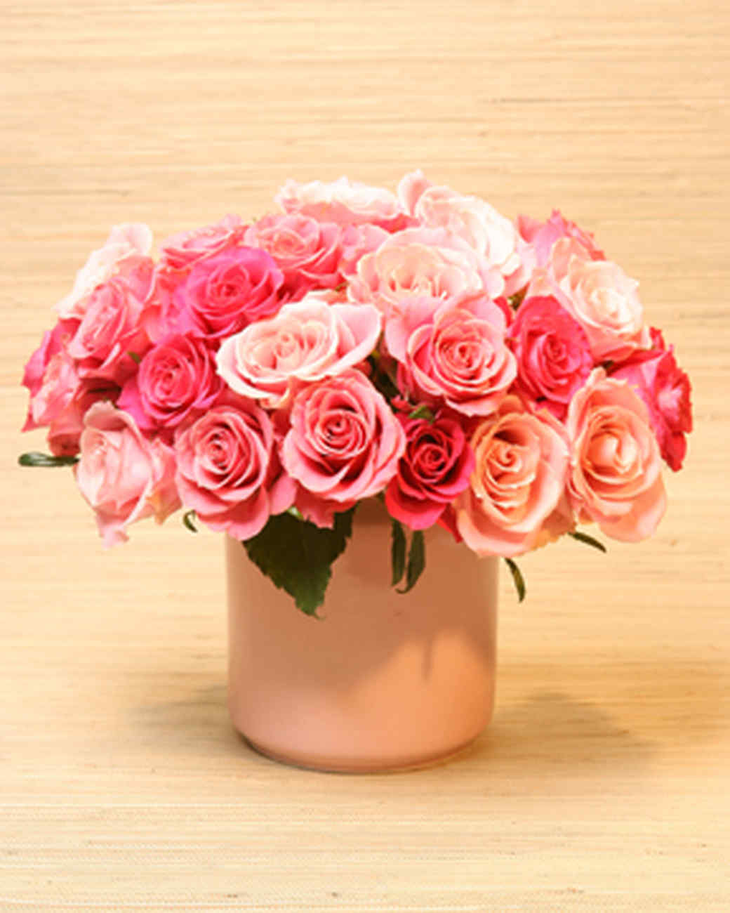 Valentine 39 s day craft and flower ideas martha stewart for Valentines day flower ideas