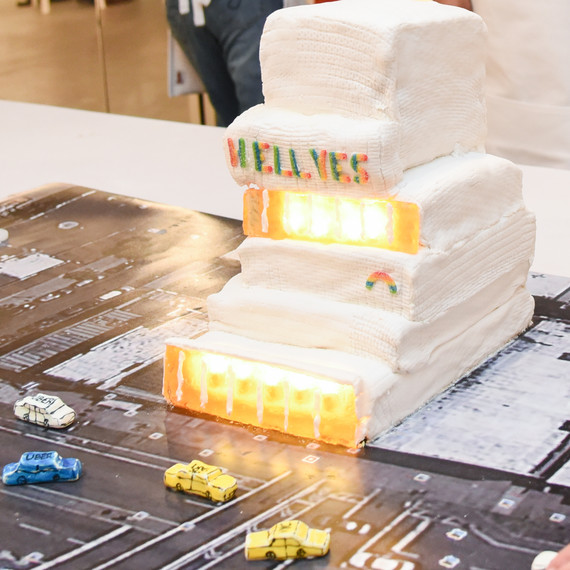 New Museum recreated at the Great Architectural Bake-Off
