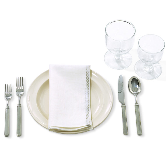 The Informal Table Setting