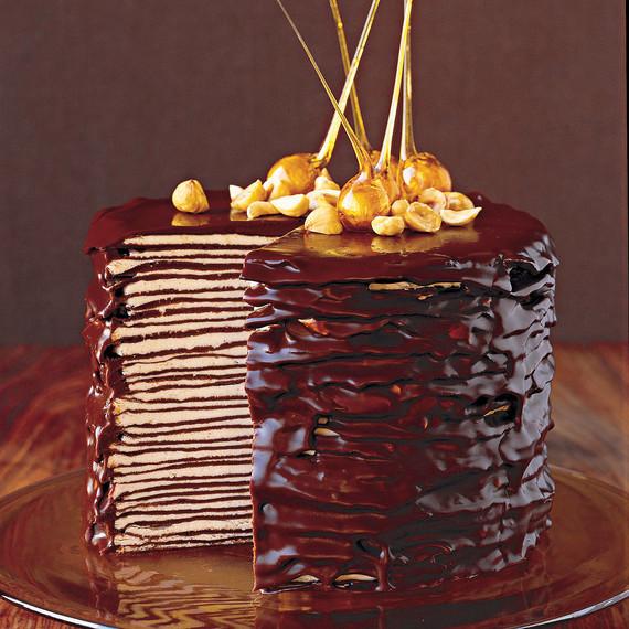 Stacked crepe cake recipe