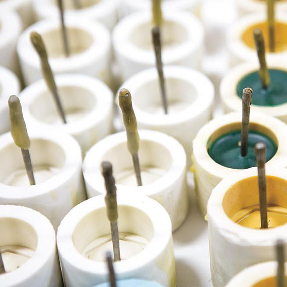 Beeman candle molds