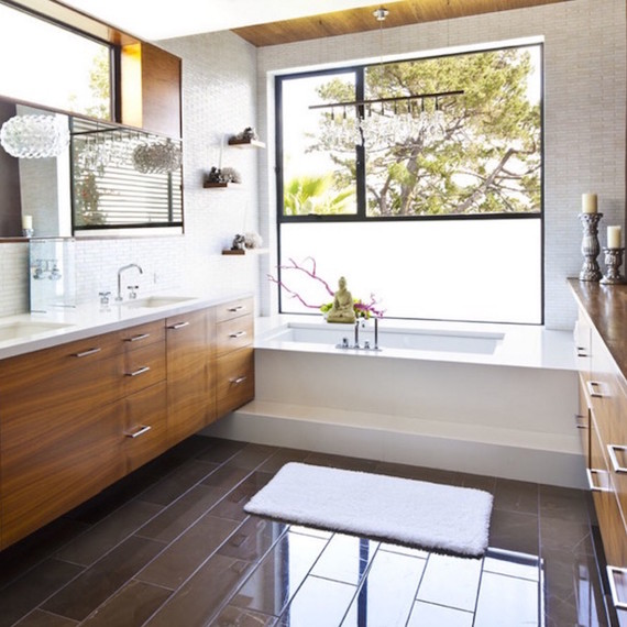 Bathroom Windows 7 different bathroom window treatments you might not have thought