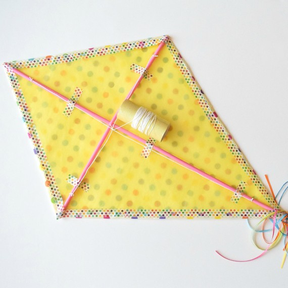 How to make a kite out of paper martha stewart - How to make a kite ...