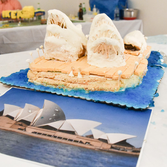 Sydney Opera House recreated at the Great Architectural Bake-Off