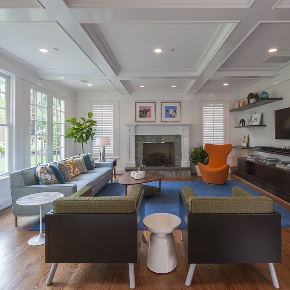 Living Room Furniture Mix And Match 10 rules to keep in mind when decorating a living room | martha