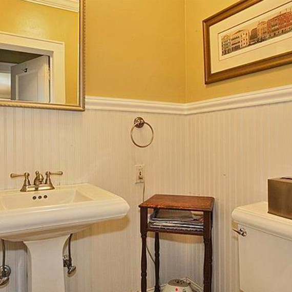 Thinking about a bathroom remodel here are 4 small for Martha stewart bathroom design ideas