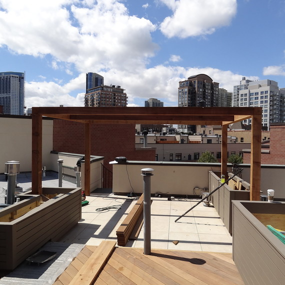 How To Build An Outdoor Oasis On An Apartment Roof Deck Martha