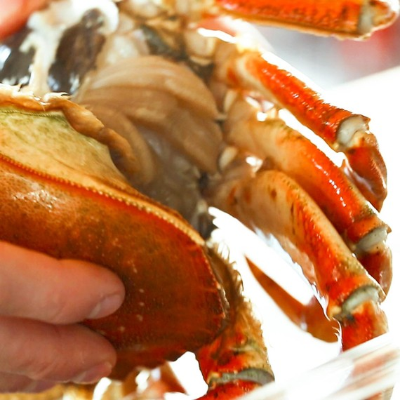 Cleaning Crab