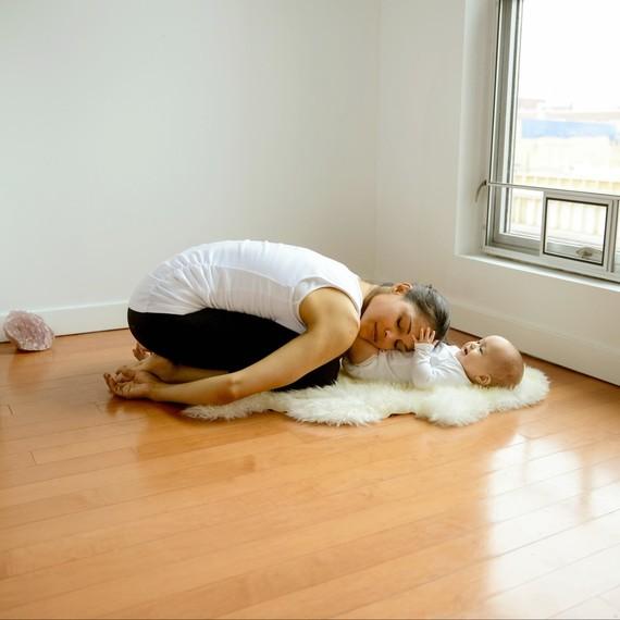 Mommy Yoga Child's Pose