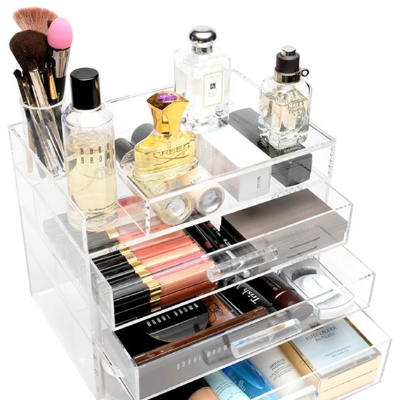 Bathroom Makeup Storage