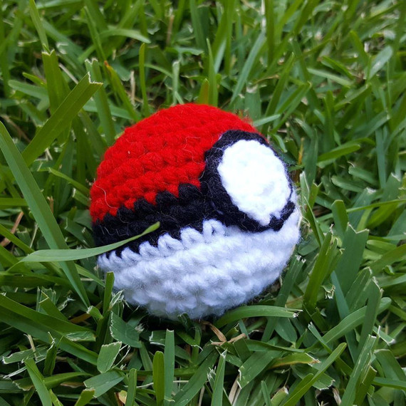 pokemon go crochet ball