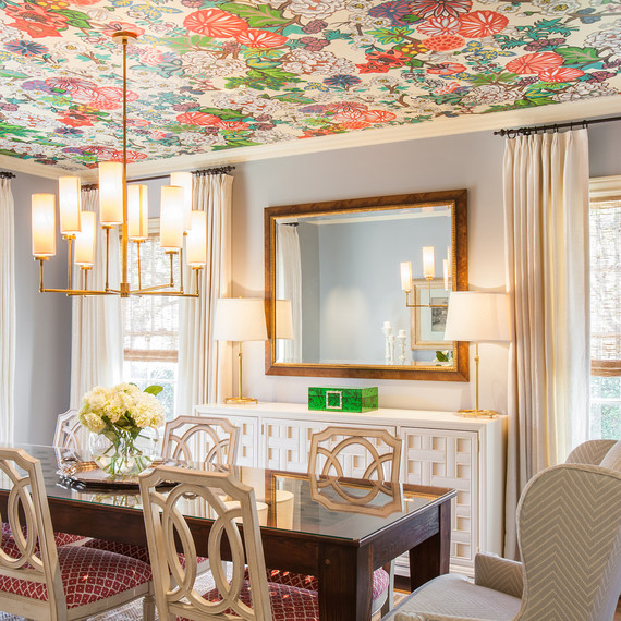 wallpaper ceiling 09516 jpg  skyword 269810. 8 Unexpected Wallpaper Ideas to Try in Your Home   Martha Stewart