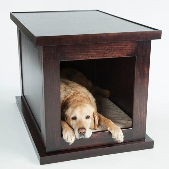 "The world's first ""smart"" anti-anxiety dog crate."