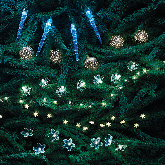 How to Properly String Lights on a Christmas Tree Martha Stewart