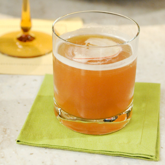 Cider-Bourbon Cocktail