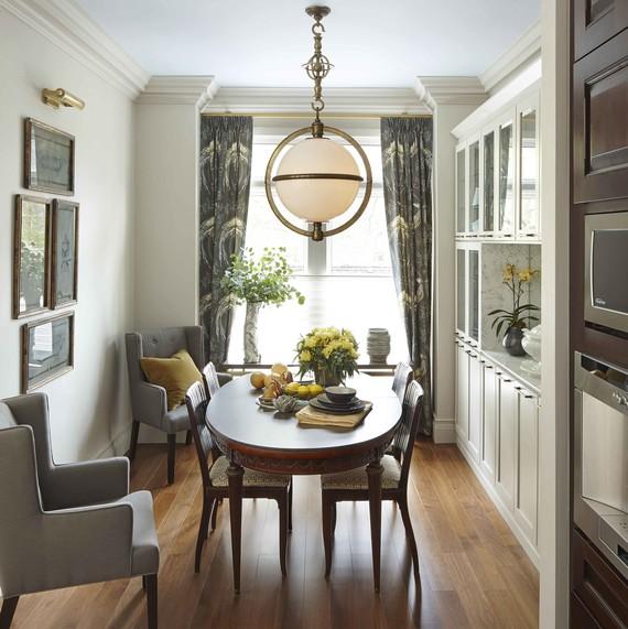 dining room makeover after home depot cabinets