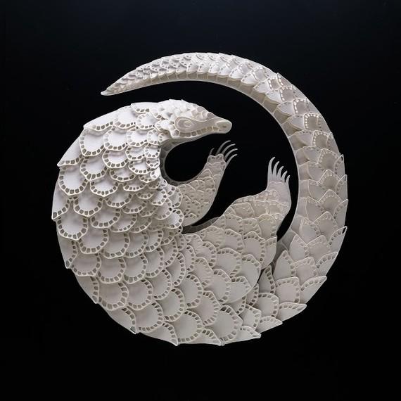pangolin papercut