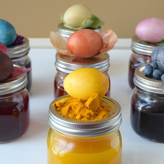 Natural Egg Dye Ingredients