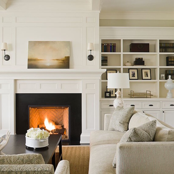 7 living room color ideas that warm up your space martha stewart for Warm white or cool white for living room