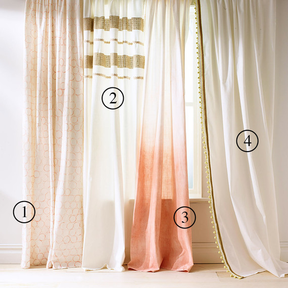 window dressing curtain four ways