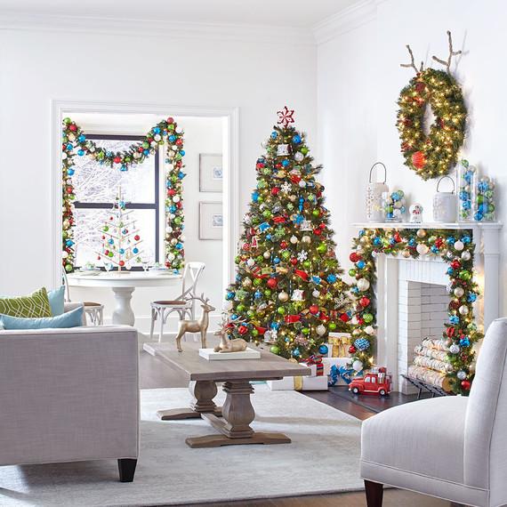 interior holiday decor
