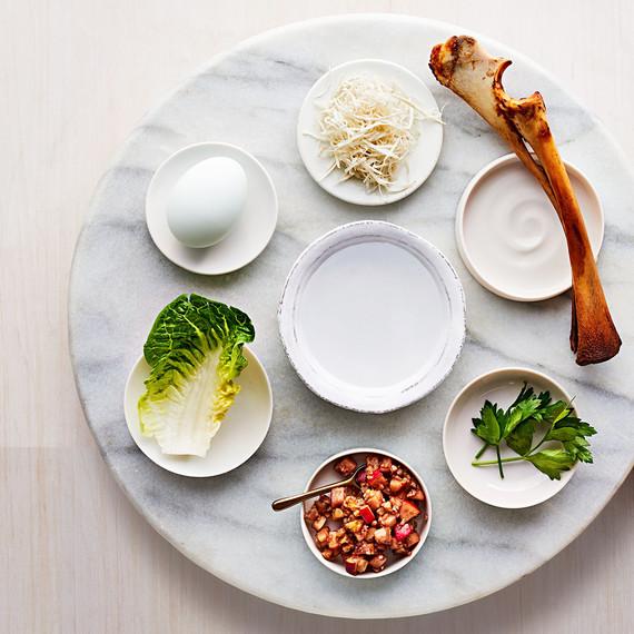 passover seder tray