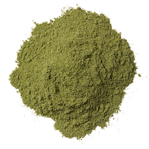 green protein powder