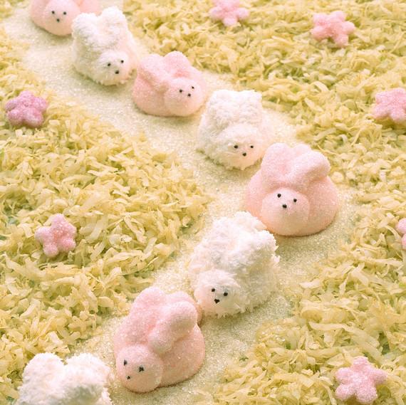 marshmallow rabbits line