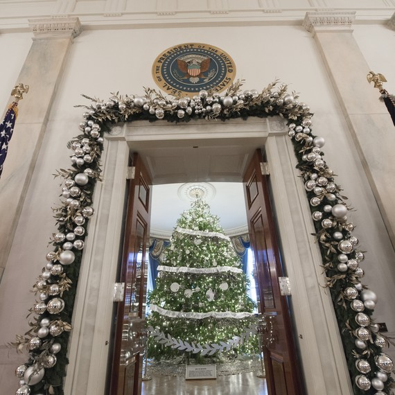 The White House Christmas Tree Has Officially Arrived