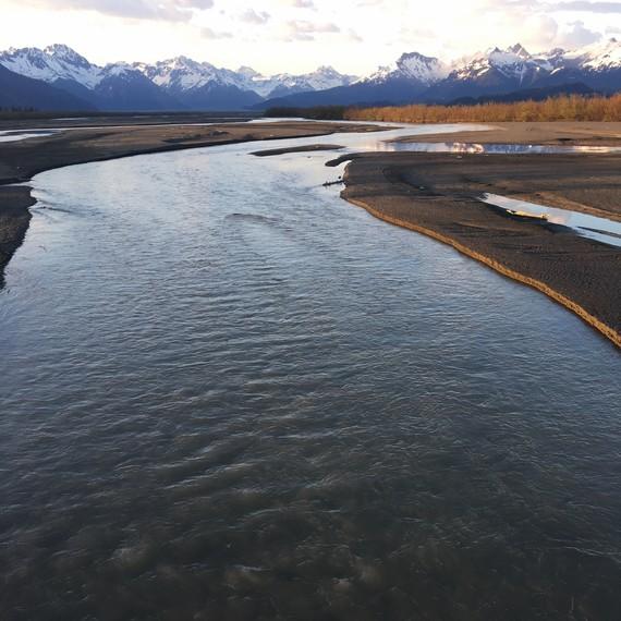 alaskin river drifters river landscape