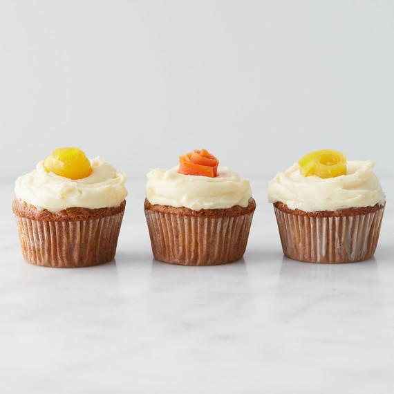 Martha Stewart Mini Carrot Cake Cupcakes