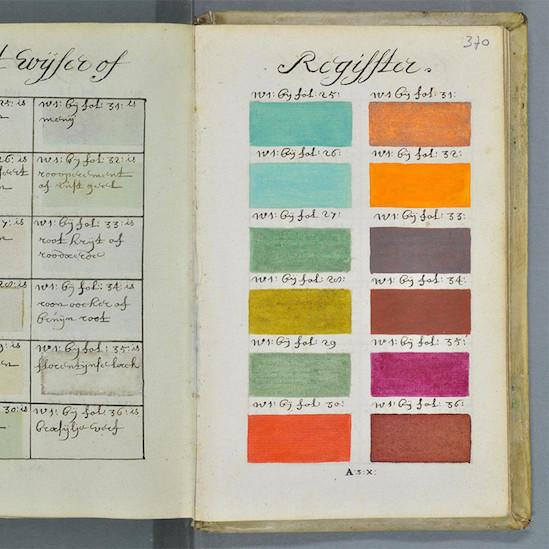 antique encyclopedia of paint colors