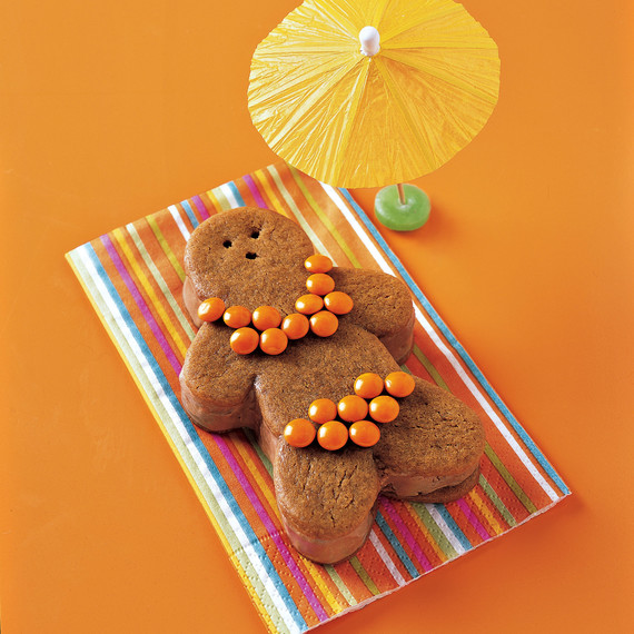 ginger bathing beauties cookie sandwich