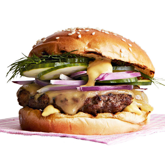 light crispy burger