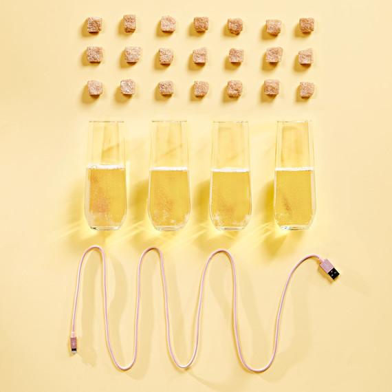 sugar cubes alcohol phone cord