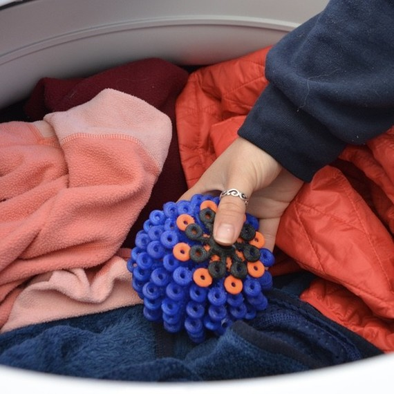 cora ball microfiber pollution laundry