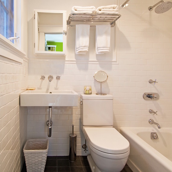 Easy Budget Mini Bathroom Makeovers Martha Stewart