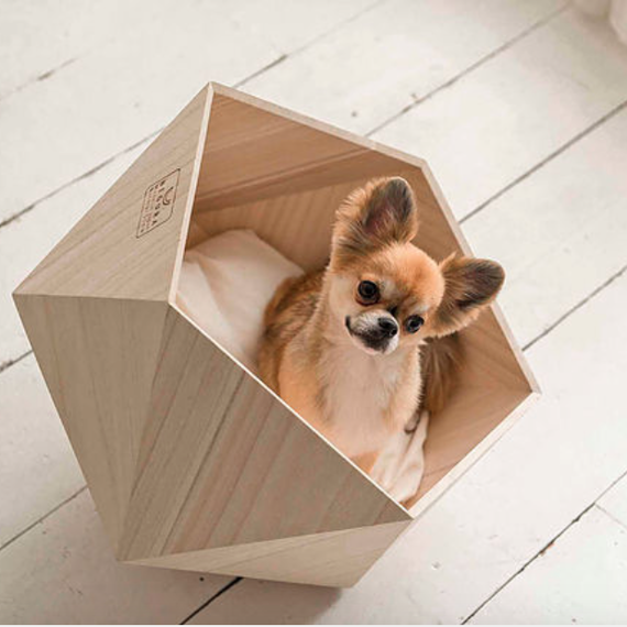 geometric pet bed by Natural Slow Inc.