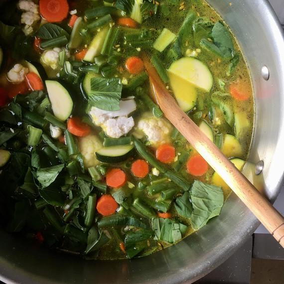 kitchari vegetables