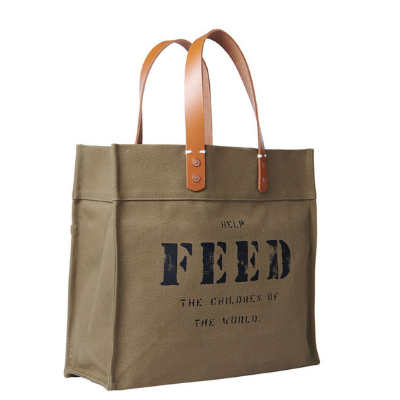 feed market tote bag