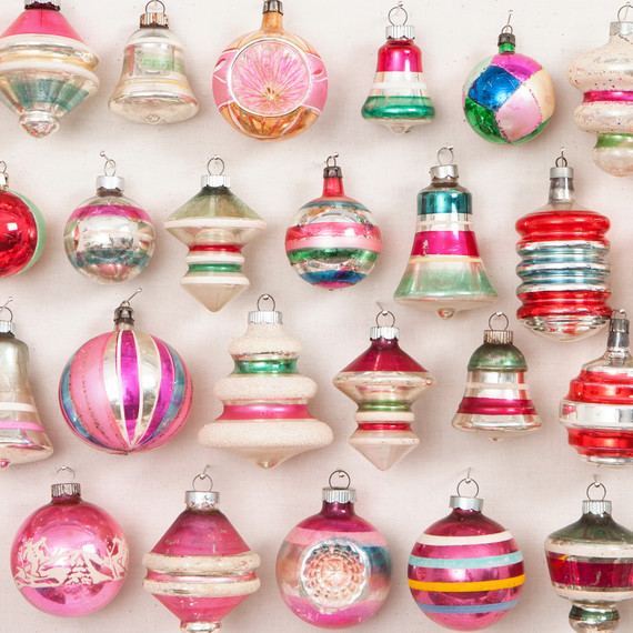 Old Fashioned Christmas Ornaments