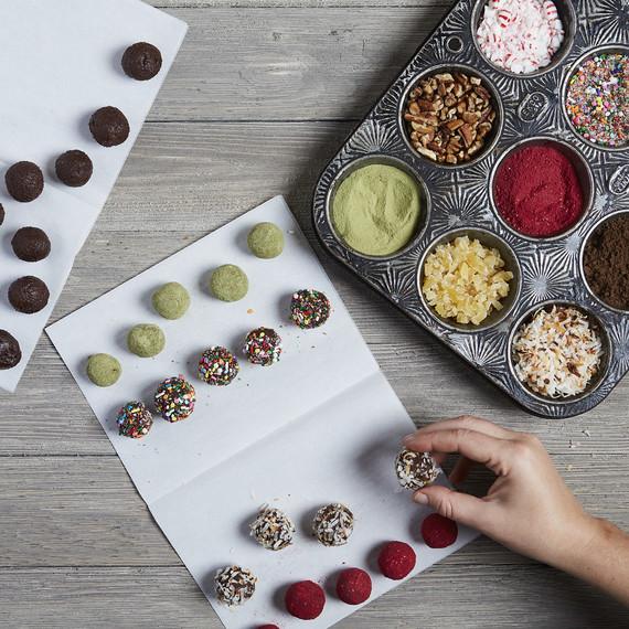 12 Brilliant Ways To Coat Chocolate Truffles Martha Stewart
