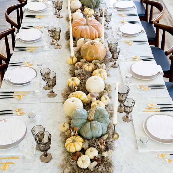 Ideas For A Modern Thanksgiving Table Martha Stewart