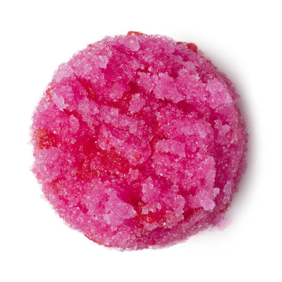 Lush Valentine's Day lip scrub