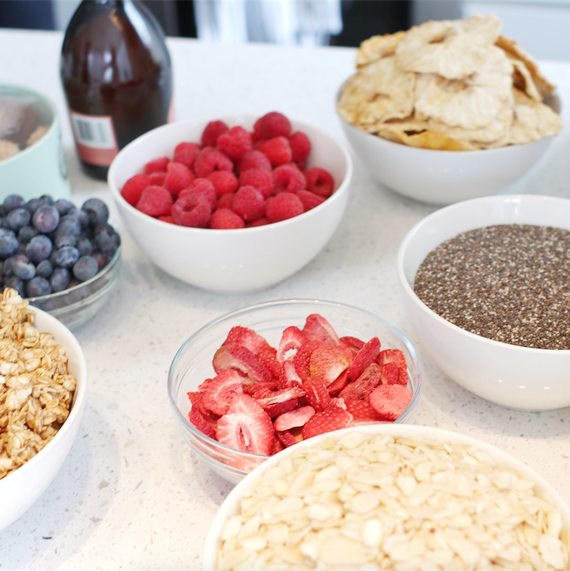 smoothie bowl party