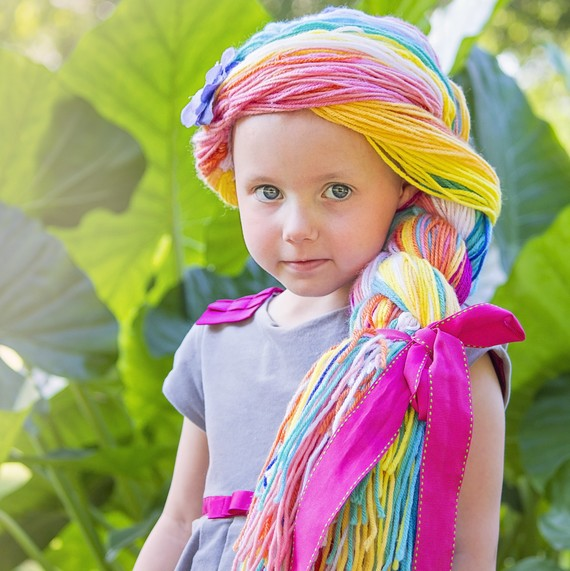 Help The Magic Yarn Project To Make Yarn Wigs For Kids
