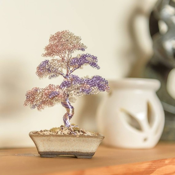 These metal bonsai trees stay beautiful forever martha for Unusual bonsai creations