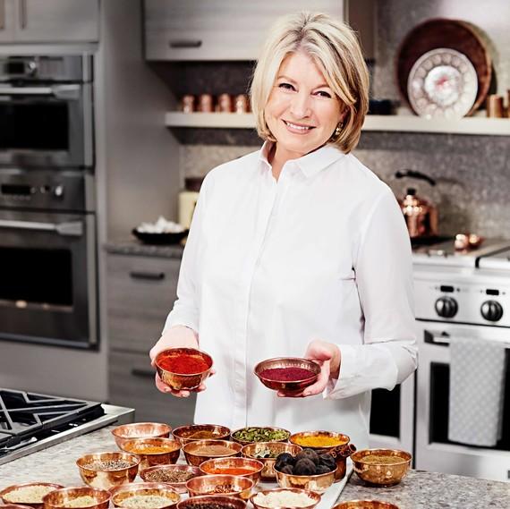 Marthastuart Marthastuart: Catch Martha Cooking Breakfast Dishes From The Arabian